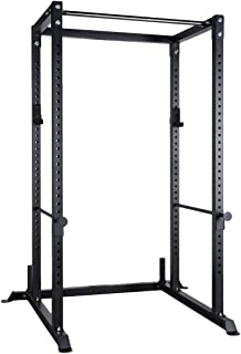 Bells of Steel Residential Power Rack 4.0 by B.o.S. with Upgrade J-Cups and Fat/Skinny Pull Up Bar