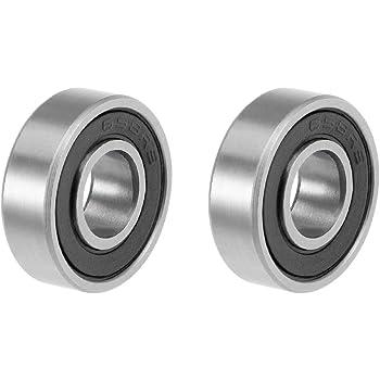 6000-2RSC3EMQ5 Economy Deep Groove Ball Bearing Rubber Seals 10x26x8