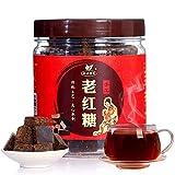 Azúcar negro 250g hecho a mano antiguo azúcar moreno mujeres menstrual azúcar viejo bloque de azúcar moreno