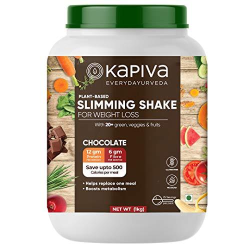 Kapiva Slimming Shake - Plant-based Nutrition Powder For We