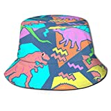 XCNGG Hombres Mujeres Sombrero para el Sol Pescador Bucket Visera Enrollable Sombrero Sombrero de...