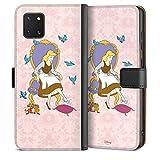 DeinDesign Étui Compatible avec Samsung Galaxy Note 10 Lite Étui Folio Étui magnétique Disney...