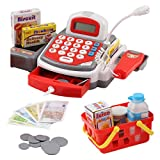 Best Toy Cash Registers - Vokodo Toy Cash Register with Microphone Calculator Grocery Review