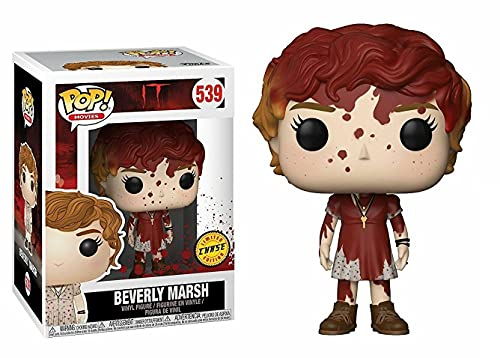 Funko Pop! Movies   Stephen King's IT   Bloody BEVERLY MARSH CHASE Variant   Limited Edition   Vinyl Figure