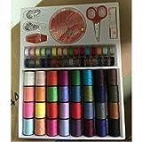 Dynamovolition Color accesorios para máquinas de coser (64 rollos) set 0.16kg