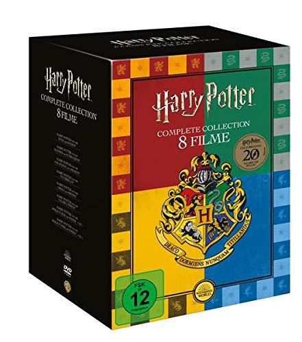 Harry Potter Kollektion   komplette Film Box   8 DVDs (exklusive Buchhandels-Edition)