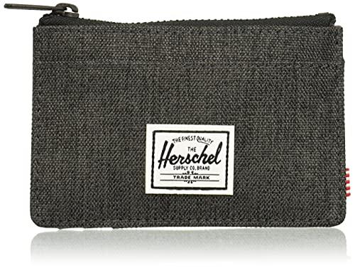Herschel Cartera con Cremallera, Taglia Unica, Black Crosshatch