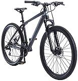 BIKESTAR Bicicleta de montaña Hardtail de Aluminio, 21 Marchas Shimano 27.5' Pulgadas | Mountainbike con Frenos de Disco Cuadro 18' MTB | Azul