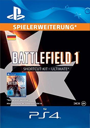Battlefield 1 Ultimate-Bundle Edition DLC [PS4 Download Code - deutsches Konto]