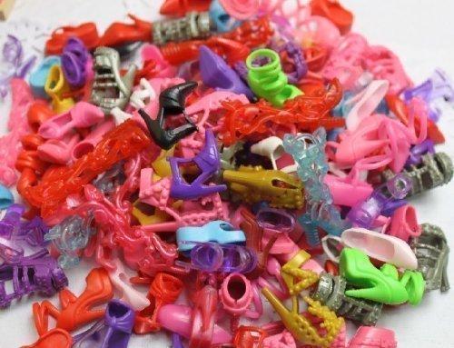 20 Paar Hochwertige Mode Schuhe High Heels Sandalen Für Barbie Puppe Sindy Nicht Mattel Outfit Kleid Spielzeug Aus London Durch Fett Catz Veröffentlicht