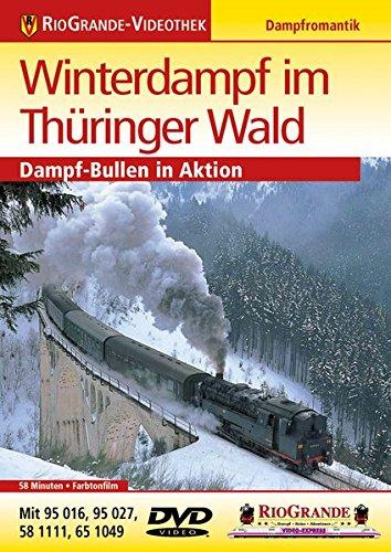 Winterdampf im Thüringer Wald - Dampf-Bullen in Aktion - Dampflokromantik - RioGrande