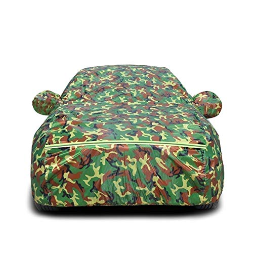 Funda Impermeable para Coche Compatible con Citroen Ds3 Todo Tipo de Clima Oxford Cloth Fundas para automóvil Algodón Protección Exterior para Polvo, Lluvia, Nieve, UV