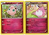 Evolution Set - Wigglytuff/Jigglypuff - 66/124 - Fates Collide - 2 Card LOT