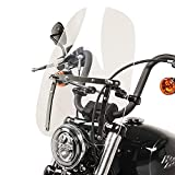 Soporte de matrícula de lateral negro para Honda VT 600 Bobber Chopper custombike