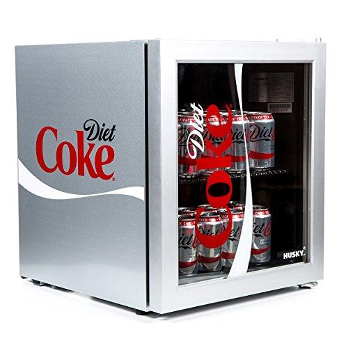 Husky HUS-HY209-HU Diet Coke Design Glass Door - [Energy Class A+]