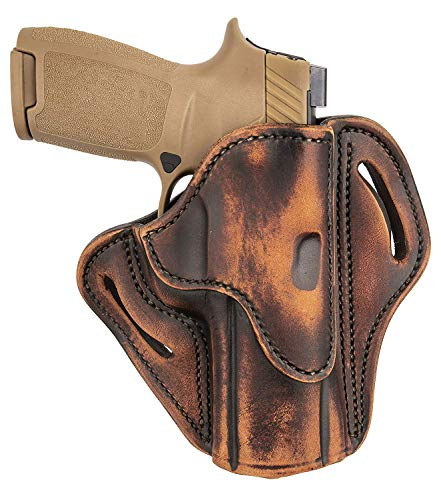 1791 GUNLEATHER P320 Holster, Right Hand OWB Leather Gun...