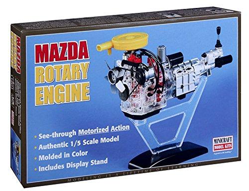 Mini Craft 11201 modèle Kit Mazda visble Rotary Moteur