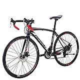 Eurobike Road Bike XC550 21 Speed 700C Dual Disc Brake Bicycle (49-30MM)