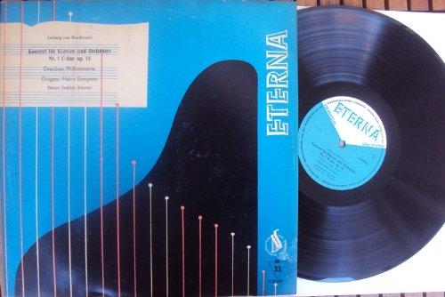 Konzert für Klavier und Orchester Nr. 1 op. 15. Heinz Bongartz, Dieter Zechlin Mono VINYL LP