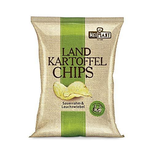 Land Kartoffelchips Sauerrahm&Lauchzwiebel