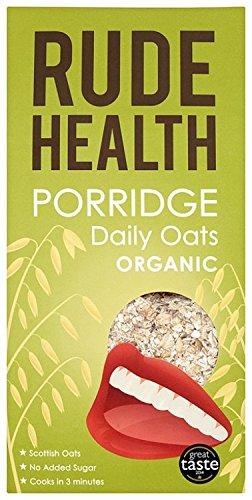 Rude Health Organic Daily Oats Porridge 500g (Case of 5)