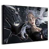 Dragón Vines lienzo pintura pegatinas de pared para sala de estar fantasma hoja por wlop otoño dnf dormitorio decoración 71 x 50 cm