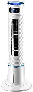 Feng Xu Ventilador de torre portátil: 3 velocidades, 15 horas de tiempo, pantalla en tiempo real, cinturón de luz LED, humidificación móvil de enfriamiento doméstico, solo aire acondicionado frío pequ