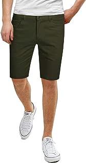 fried denim shorts