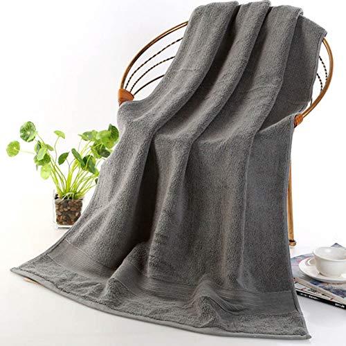 XNBCD dikke katoenen handdoek 70X140Cm grote douche gezicht handdoek volwassen kinderen effen kleur