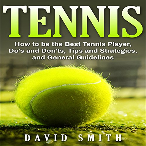 Tennis audiobook cover art