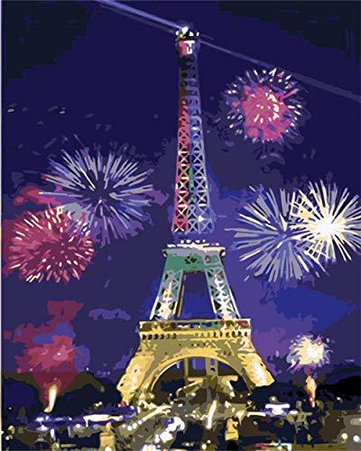 ZTCLXJ Rompecabezas 70 Piezas Torre Eiffel 70 Piezas Puzzles Progresivos Madera para Adultos Niño Niña Educativo para Niños para Desarrollar La Imaginación De Los Niños 8 X 6 In