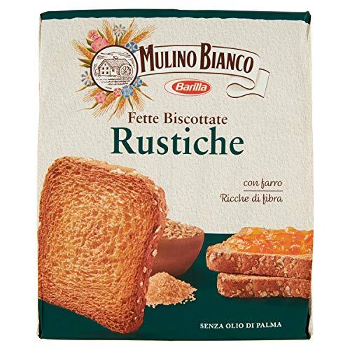 Mulino Bianco Fette Biscottate Rustiche, 315g