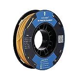 SAINSMART Filamento de impresión 3D de TPU flexible de 1,75 mm, 250 g, precisión dimensional +/- 0,05 mm (oro).