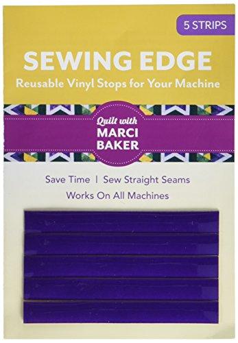 C&T PUBLISHING Notions Sewing Edge Vinyl Stops Purple 5pc