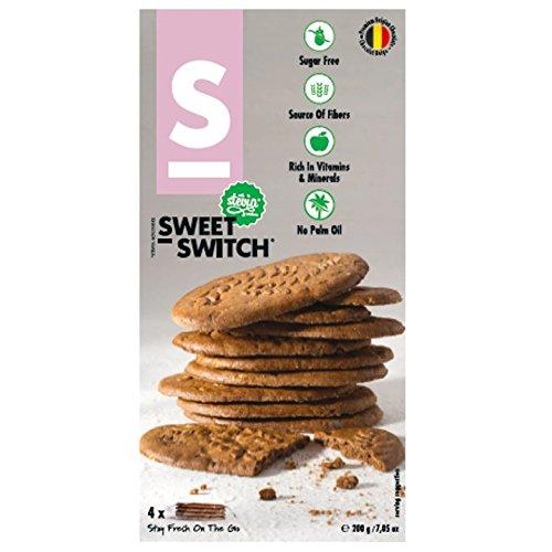 Sweet-Switch Frühstückskekse mit Kakao- und Schokoladenstückchen, ohne Zuckerzusatz, 200g
