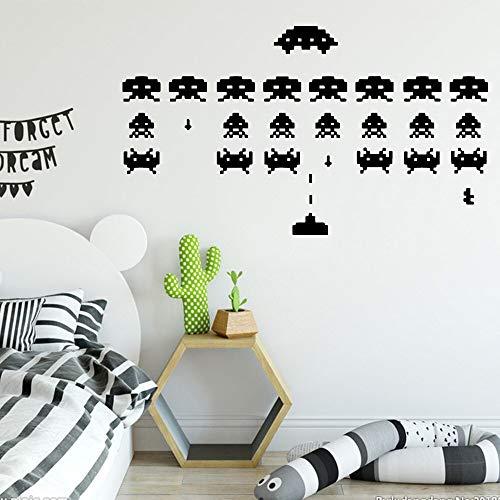 yaonuli Cartoon tetris spel muur stickers kinderkamer decoratie muur stickers decoratie stickers creatieve stickers