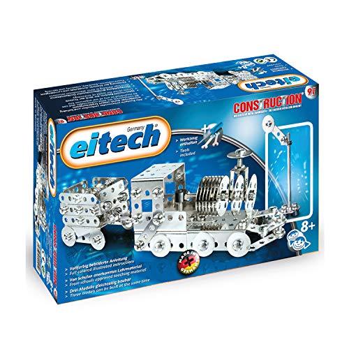Eitech Eitech-C91 Juego de construcción para niños de 180 Piezas, Multicolor, Entrenar con Remolque (C91)