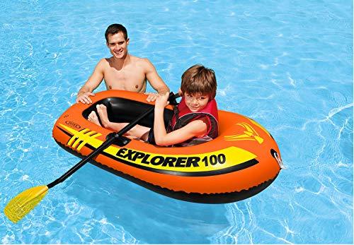 Intex Recreación 58329ep Explorer 100Barco para 1, 58x 33-in. 2