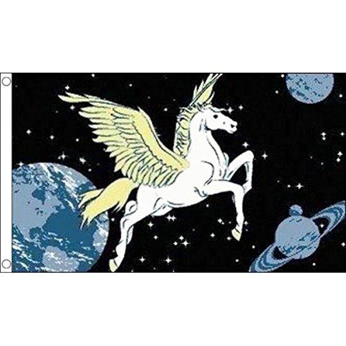 AZ FLAG Pegasus Flag 3' x 5' - Greek Mythology Creature Flags 90 x 150 cm - Banner 3x5 ft