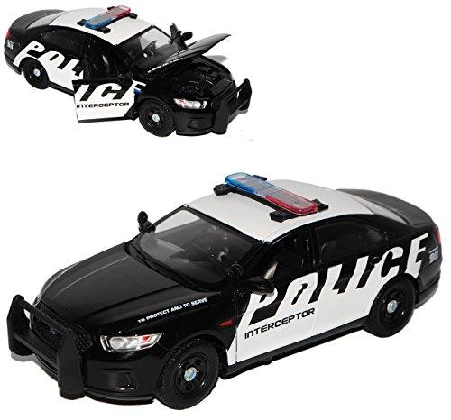 Motormax Ford Interceptor Police Polizei Limousine 2013 1/24 Modell Auto