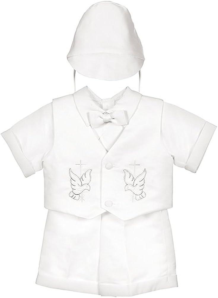 iGirlDress Baby Toddler Boys Christening Infant Directly managed store Popularity Set Short Sleeve