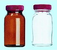 ガラス広口規格瓶 No.1100 白 15入