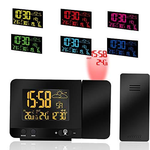 proiettore orario soffitto ALLOMN Sveglia a Proiezione Digitale