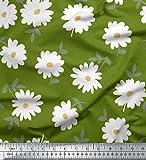 Soimoi Designer Blumenmuster 58 Zoll breit Sewing Cotton