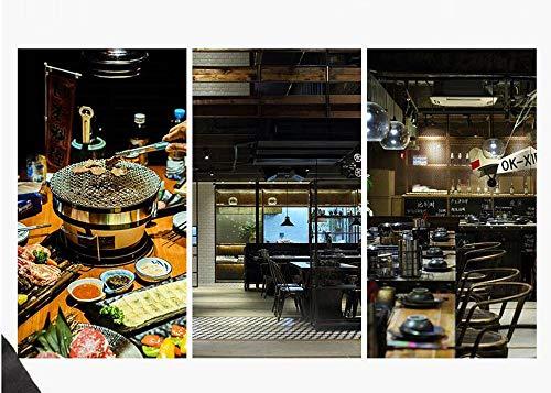 51HllwoGLEL. SL500  - PULLEY-S Japanisches Essen Grill Netzwerk Grillpfanne in großem Maßstab im Freien Grillclip Gemüse, Rippen und viele andere Lebensmittel S