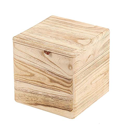 Houten Crematiebox Exquise Handgemaakte Crematiebox Cremation Funeral Pet Coffin Memorial Heaven Paradise Nest,Light color