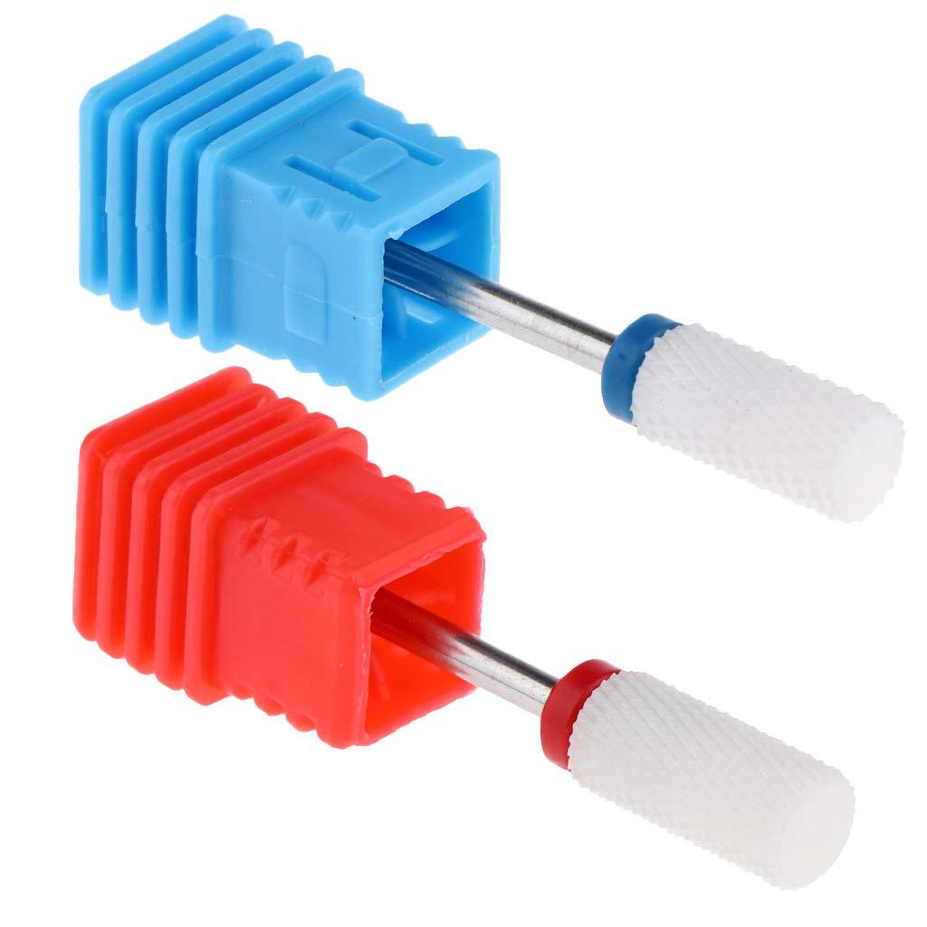 menolana 2x Ceramic Acrylic UV Gel Drill Bit Cleane Cuticle Genuine Nail Minneapolis Mall