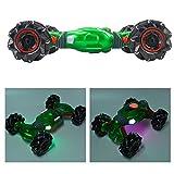 Taidda- 【Spécial Nouvel an 2021】 de Fin d'année Drift RC Car RC Car Toy, Télécommande Truck Télécommande Rolling Car RC Rolling Car, pour garçons Filles Enfants Adultes(Green)