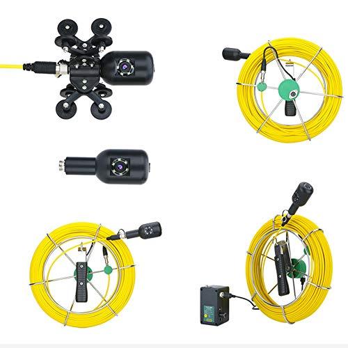 Cámara subacuática del monitor de la lente dual IP68 Waterproo Detección de drenaje para la monitorización de la acuicultura con el cable de 30Meters (regulación británica)