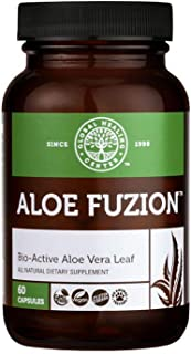 Sponsored Ad - Global Healing Aloe Fuzion Bio-Active Organic Aloe Vera Leaf Supplement - 200x Concentrate Formula with Hig...